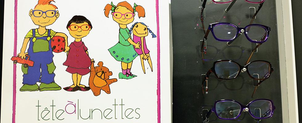 Lunettes enfants Tête à lunettes  - Mon Opticien Par Philippe Roncalli Toulouse